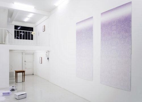 Posters  / 2016. Peinture et impression UV sur composite. TARS Gallery, Bangkok.